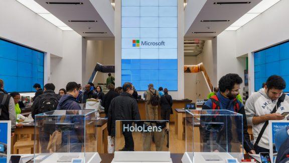 فروشگاه های خرده فروشی مایکروسافت