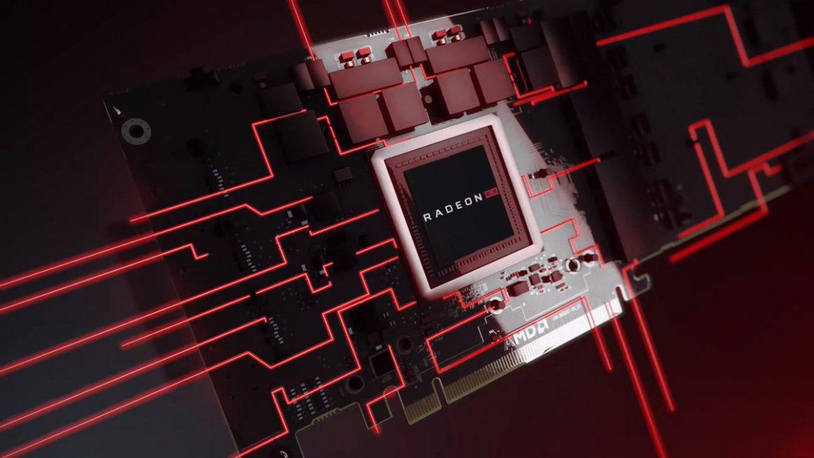 تصویر مفهومی از چیپ گرافیکی Radeon RX