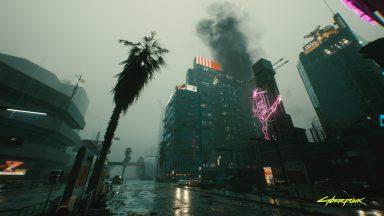 نورپردازی بازی Cyberpunk 2077
