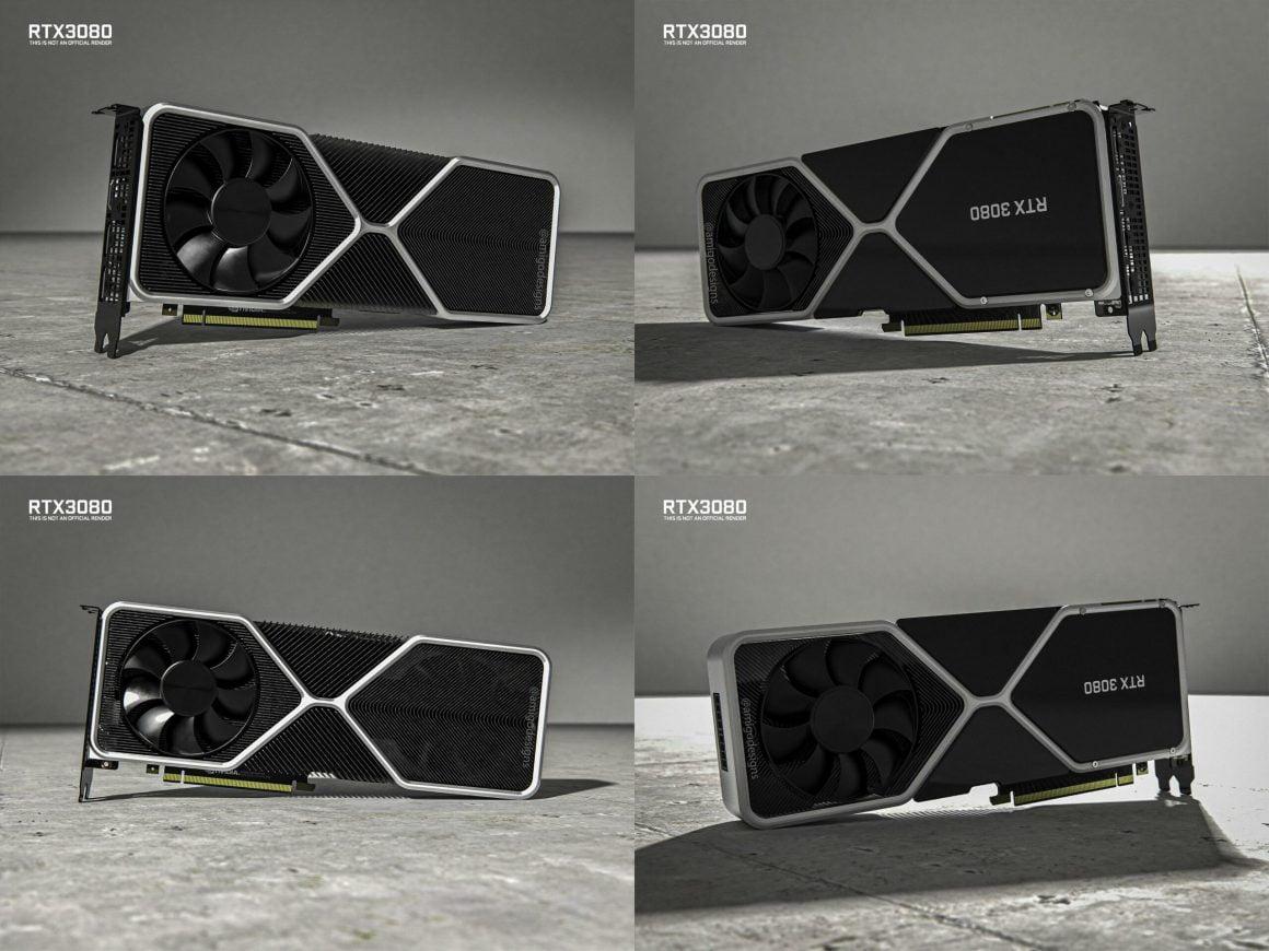 رندرهای گرافیک Nvidia RTX 3080