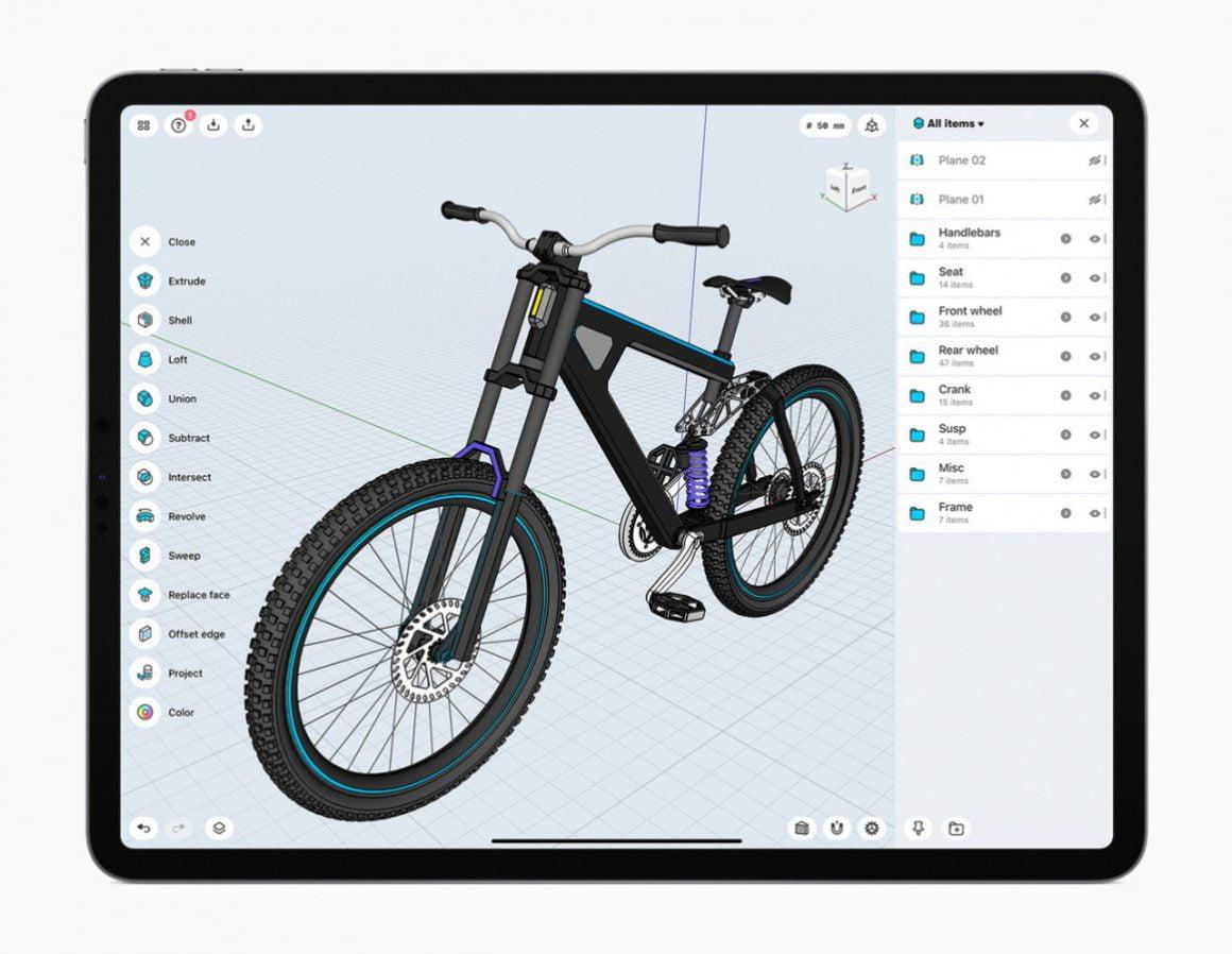 برنامه Sharp 3D CAD modeling  برای آیپد