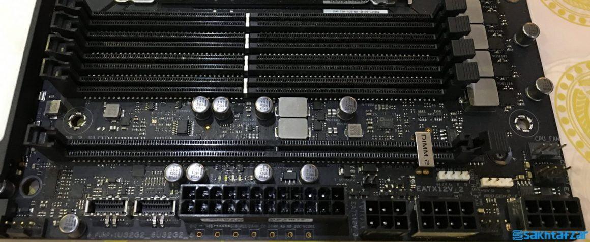 بررسی مادربردASUS ROG ZENITH II EXTREME  به همراه پردازنده AMD TR 3990X