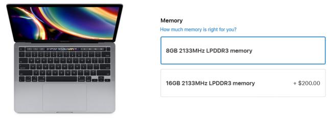 افزایش هزینه ارتقای رم MacBook Pro اپل به 200 دلار