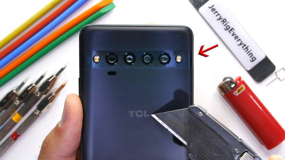تست مقاومت گوشی TCL 10 Pro