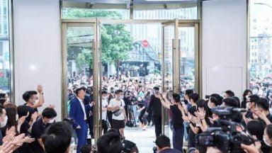 بزرگترین برندشاپ هوآوی در شانگهای