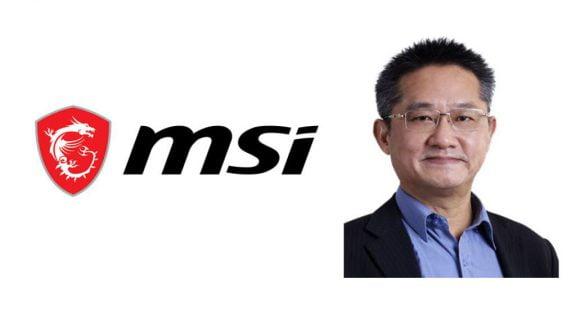 چارلز چیانگ، مدیرعامل کمپانی MSI