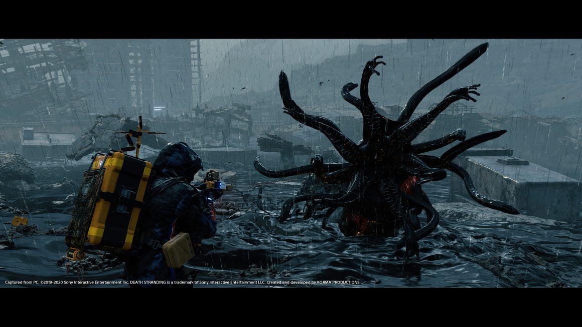 تصاویر 4K جدید بازی Death Stranding