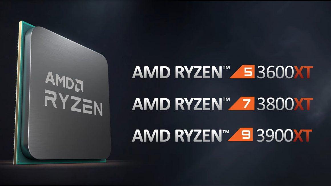سه پردازنده سری Ryzen 3000XT
