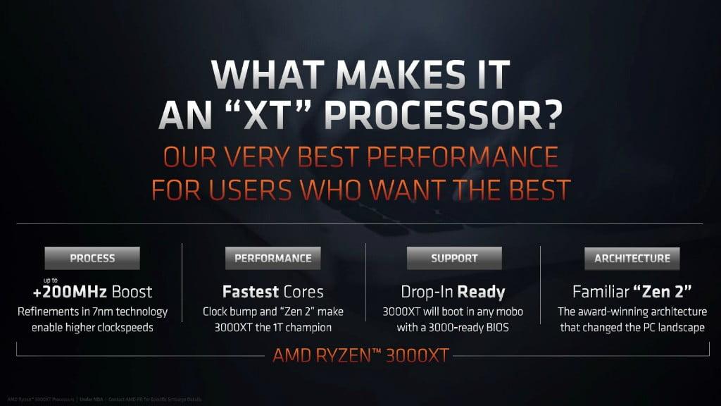 توضیحی درباره سری Ryzen 3000 XT