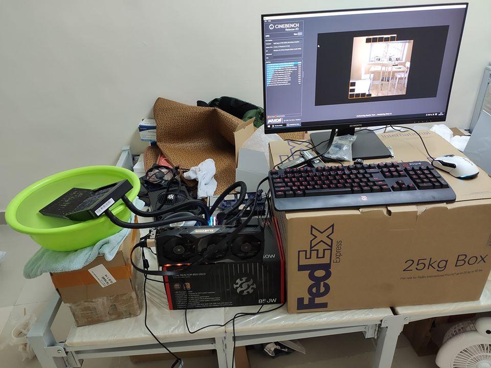 جدیدترین بنچمارک Ryzen 7 4700G تصویر سیستم تست