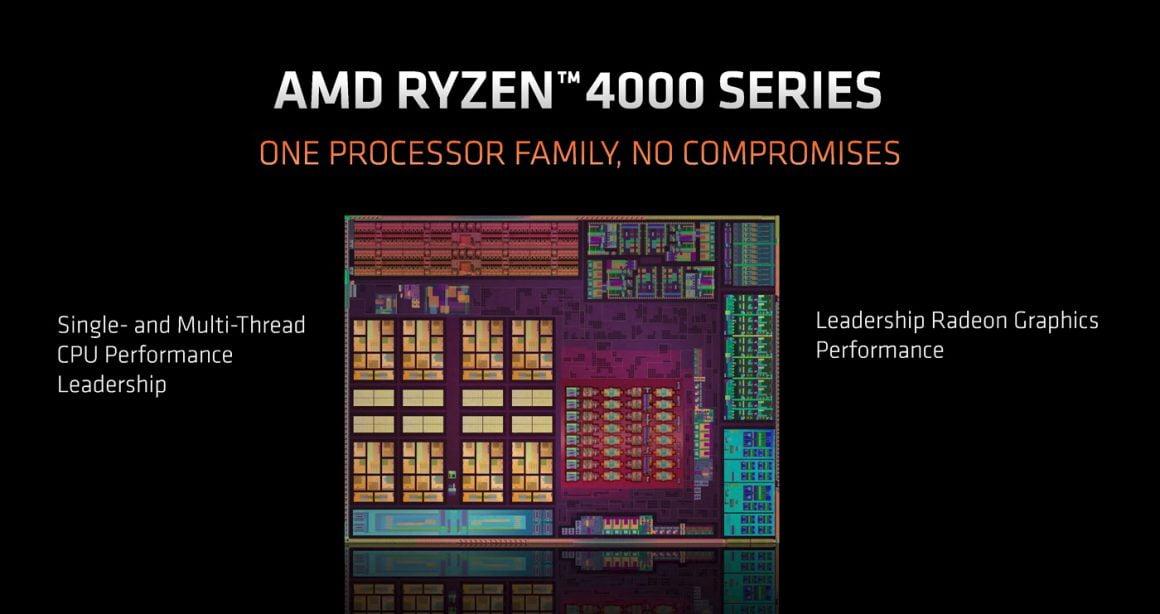 سری Ryzen 4000 Renoir