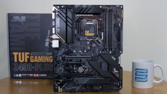 بررسی مادربرد ASUS TUF GAMING Z490-PLUS (WI-FI)