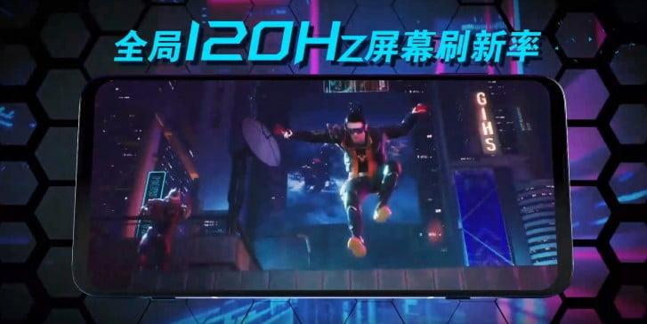 نمایشگر بلک شارک 3S شیائومی