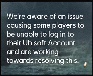 مشکل ورود Ubisoft
