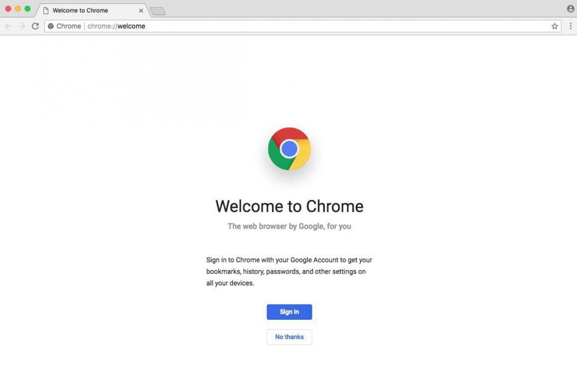 Mac Google Chrome