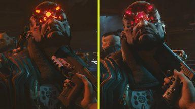 تفاوت گرافیک Cyberpunk 2077 سال 2018 و 2020
