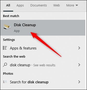 ابزار Disk Cleanup