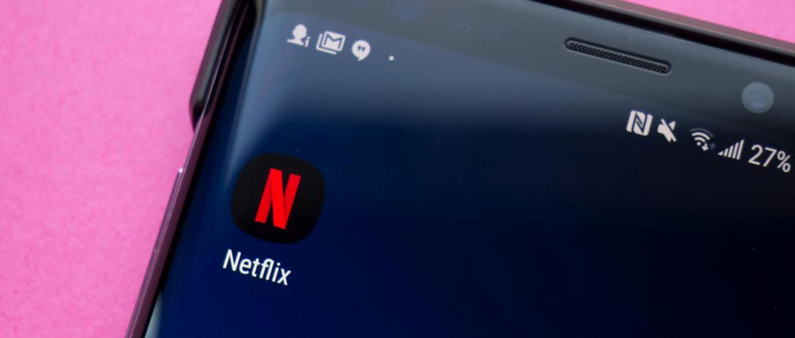 سرعت پخش ویدیو در برنامه Netflix