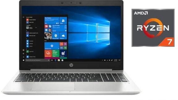 HP ProBook 455 G7 با چیپ AMD