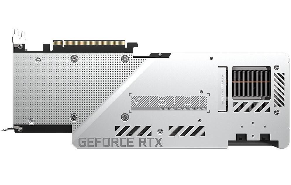 عرضه گرافیک RTX 3080 Vision گیگابایت