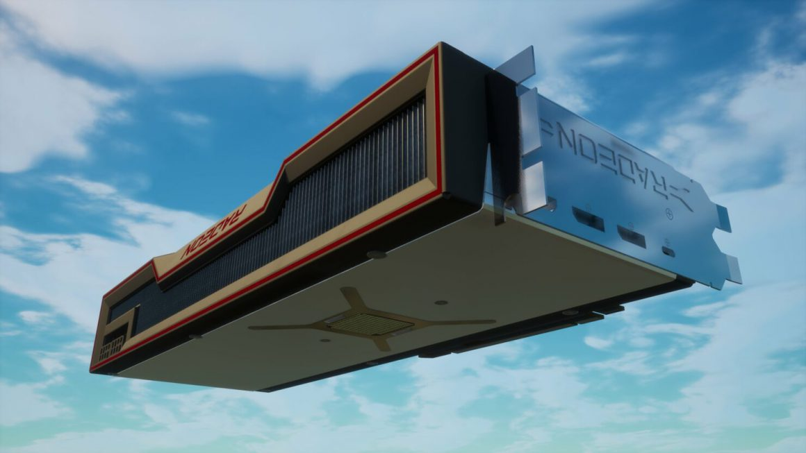 اولین تصویر گرافیک Radeon RX 6000 در فورتنایت