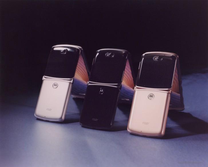 رنگبندی گوشی موتورولا ریزر 5G
