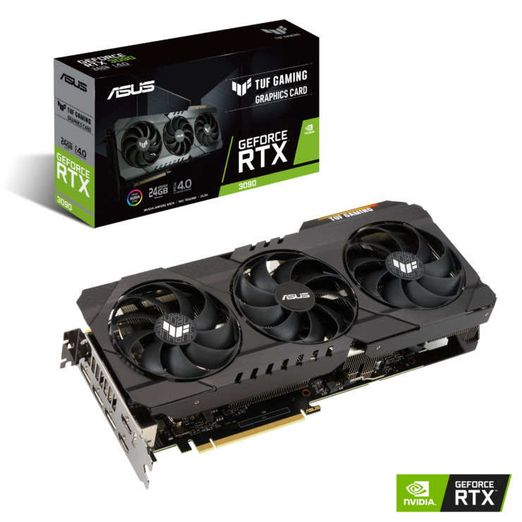 سری Asus GeForce RTX 3090