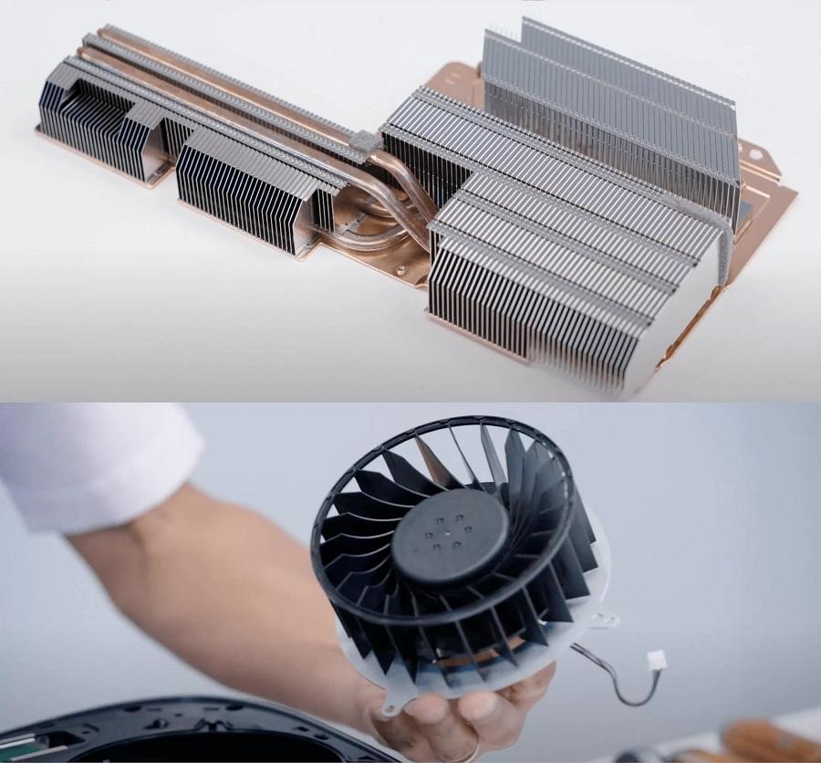 سیستم خنک کننده PS5