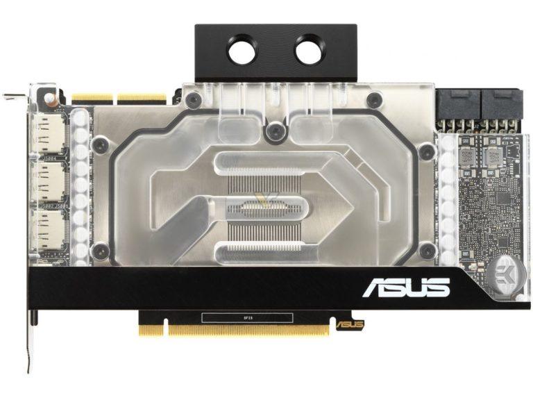 نمایش GeForce RTX 3090 EK ایسوس با واتر بلاک