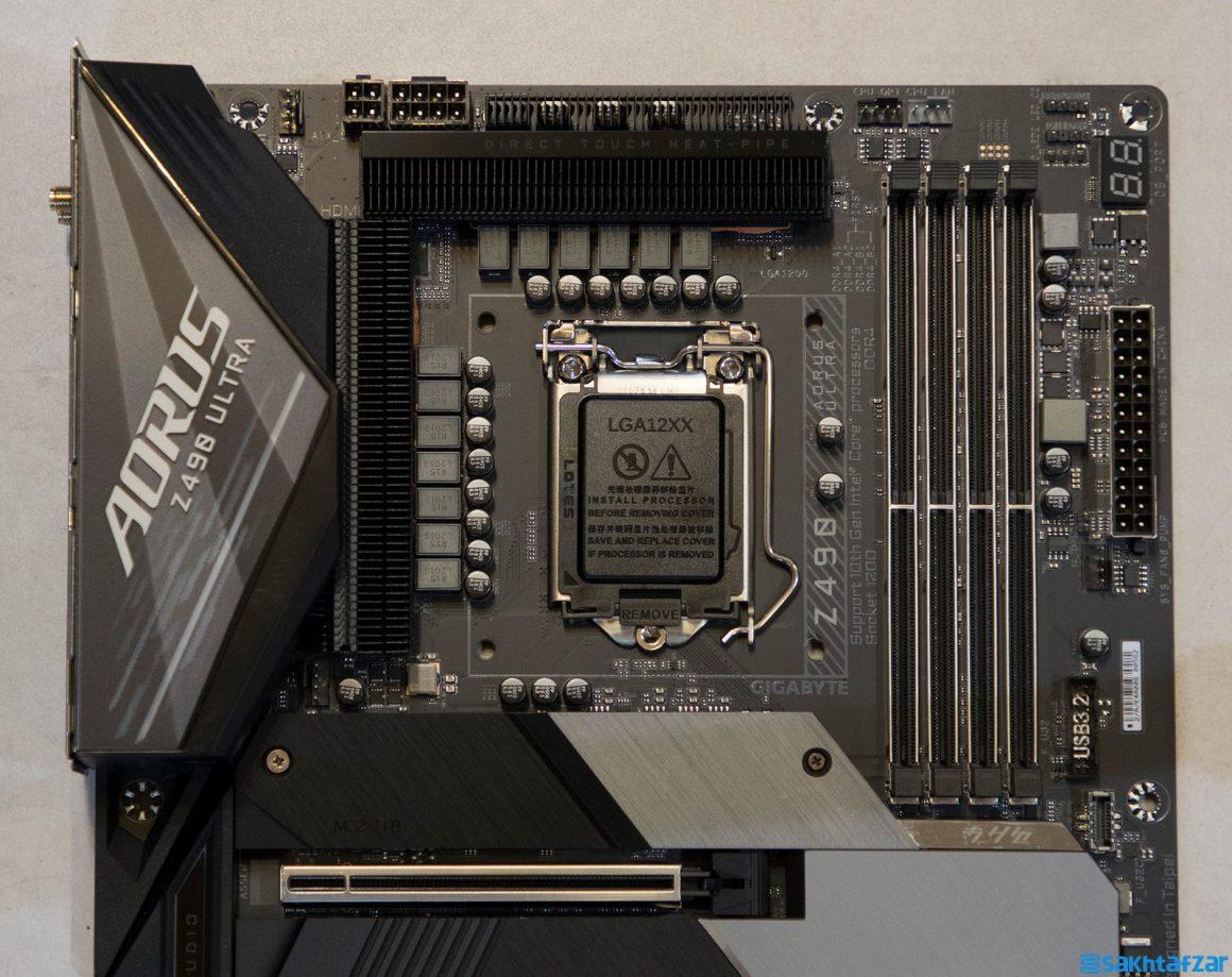 بررسی مادربرد GIGABYTE Z490 AORUS ULTRA به همراه پردازنده 10700K