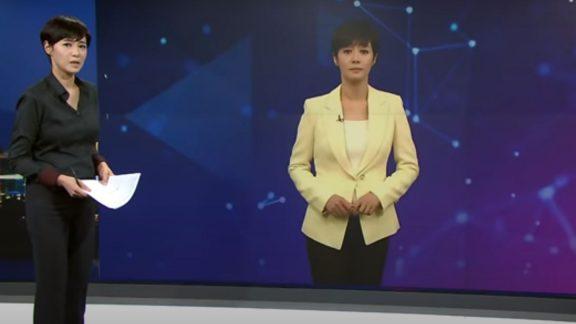 مجری خبری مجهز به هوش مصنوعی در اخبار کره جنوبی