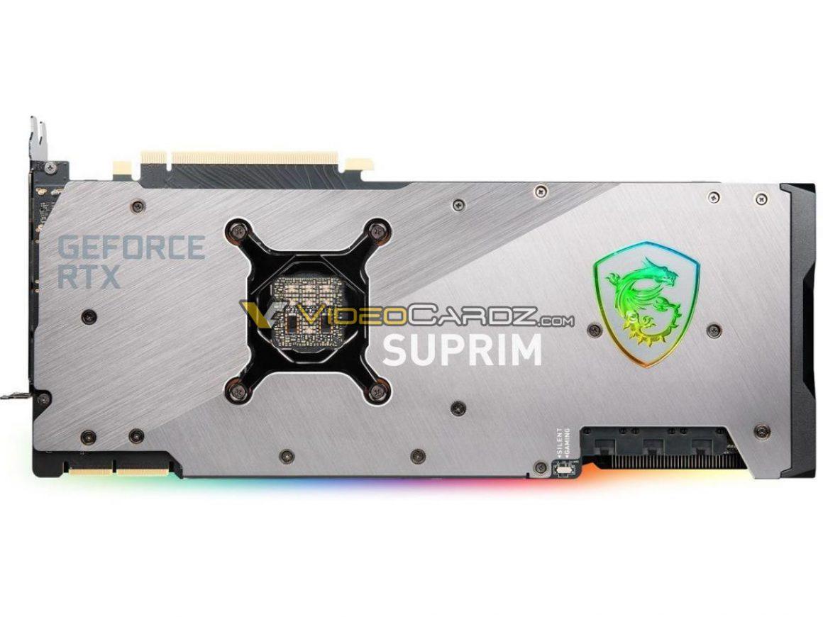 گرافیک MSI GeForce RTX 3090 SUPRIM X