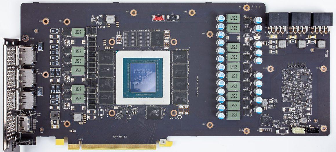 بُرد MSI RTX 3080 GAMING X TRIO