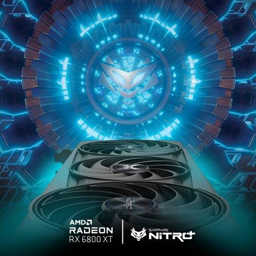 تیزر Radeon RX 6800 XT Nitro+