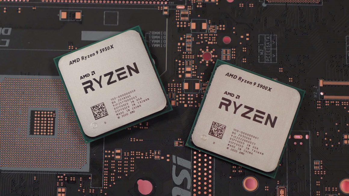 مقایسه پردازنده Ryzen 9 5950X