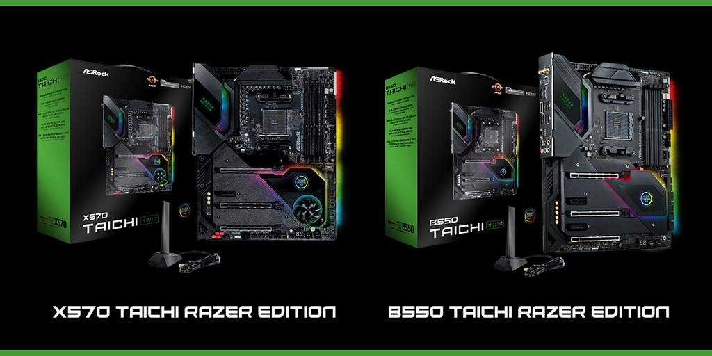 نسخه Razer Edition مادربرد Taichi