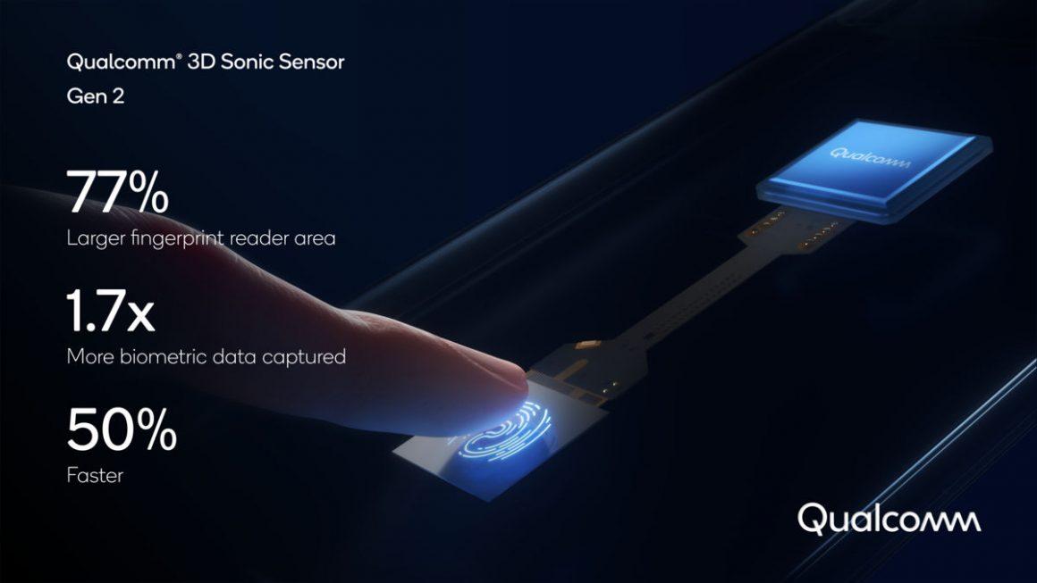 سنسور اثر انگشت جدید زیر نمایشگر کوالکام