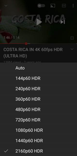 امکان پخش 4K در برنامه اندروید YouTube - حتی بدون صفحه نمایش 4K 01