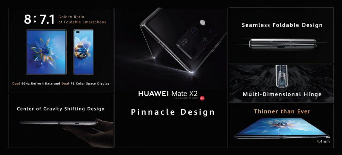 گوشی هواوی Mate X2