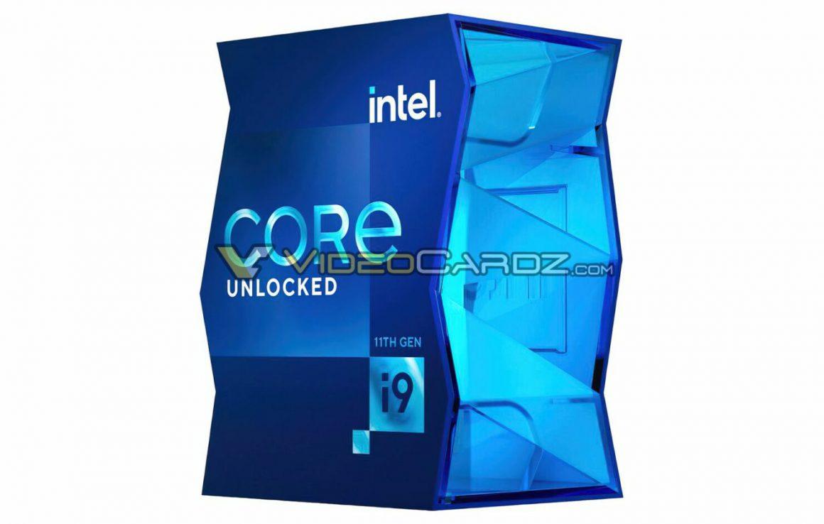 بسته بندی چیپ های Core i9 سری Rocket Lake