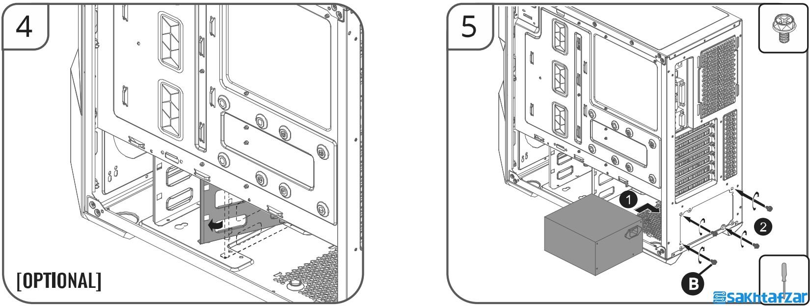 بررسی کیس گیمینگ Cooler Master MasterBox TD500 Mesh