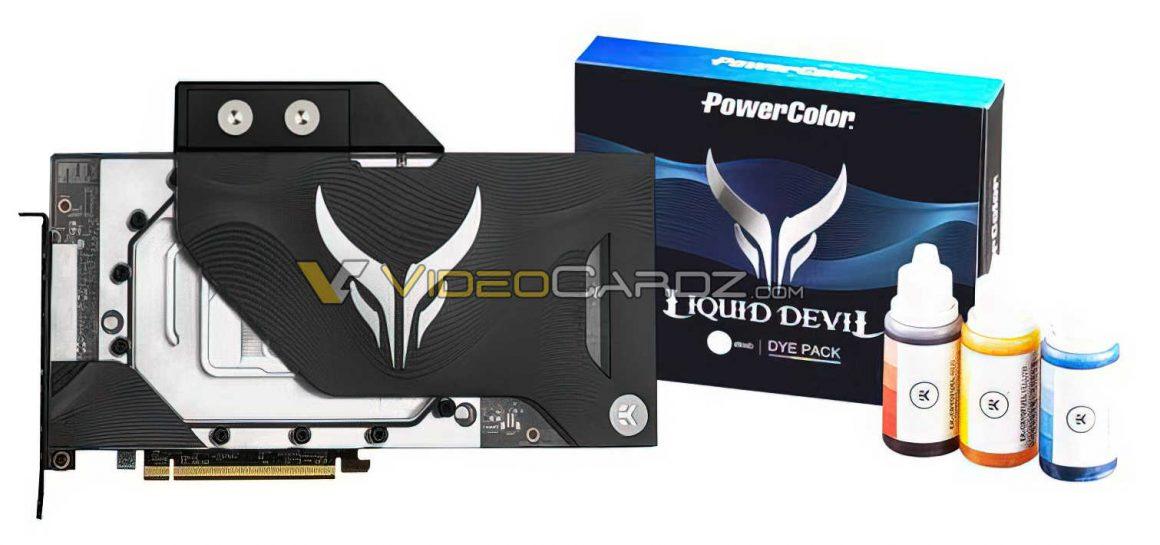 گرافیک PowerColor RX 6900 XT Liquid Devil