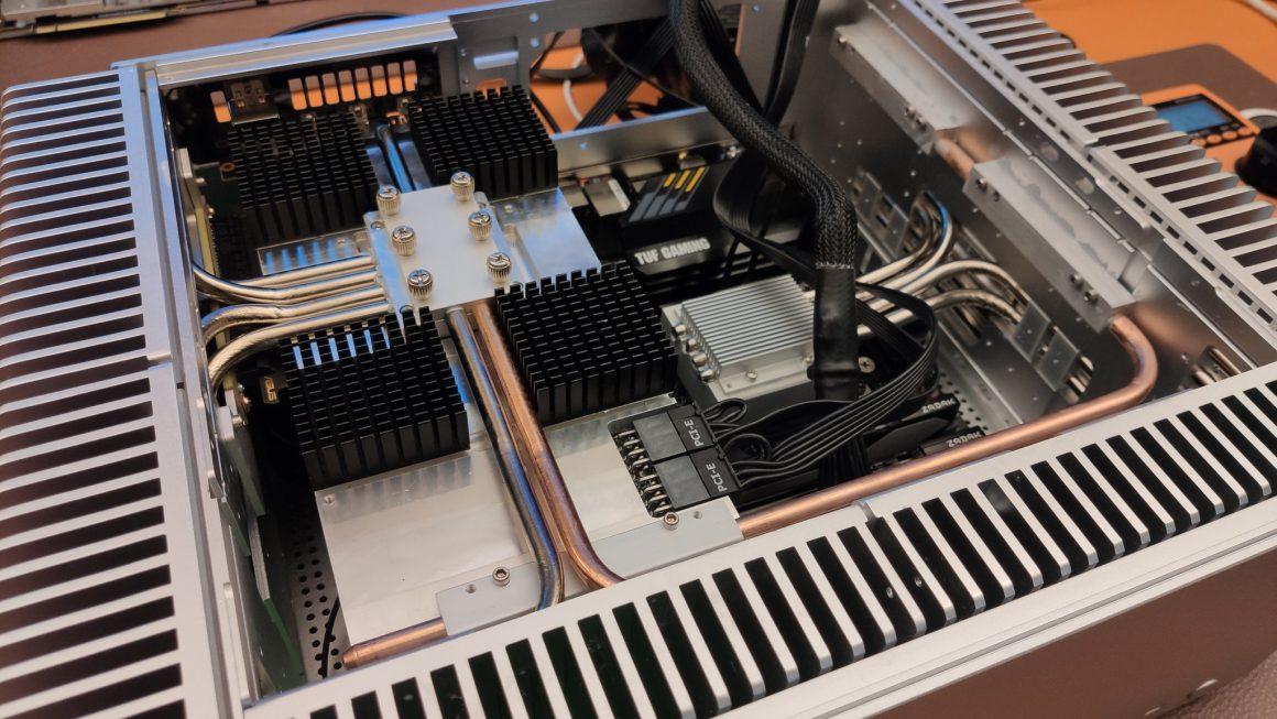 تست گرافیک NVIDIA RTX 3080 در کیس بدون فن