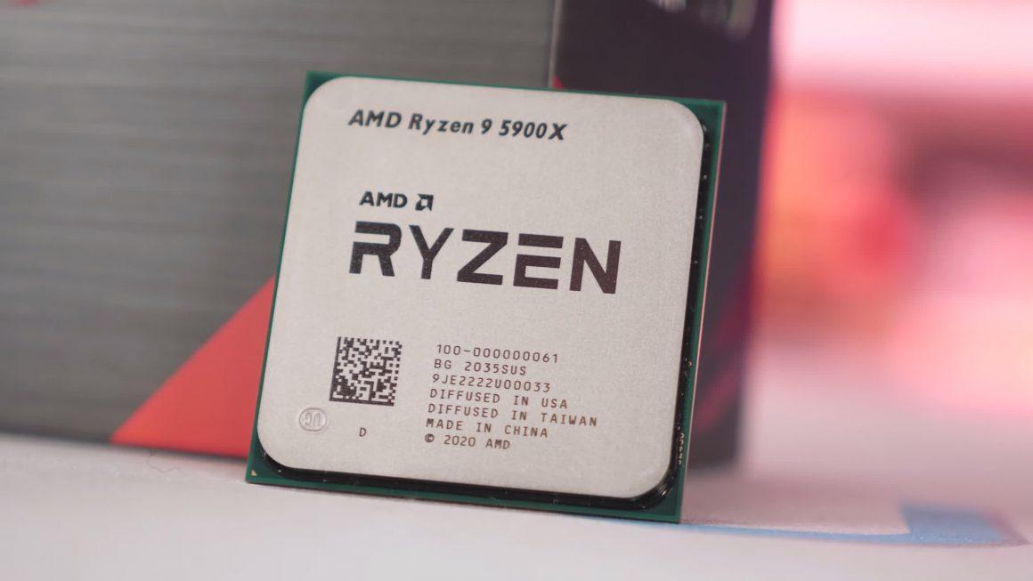 مقایسه پردازنده Ryzen 9 5900X