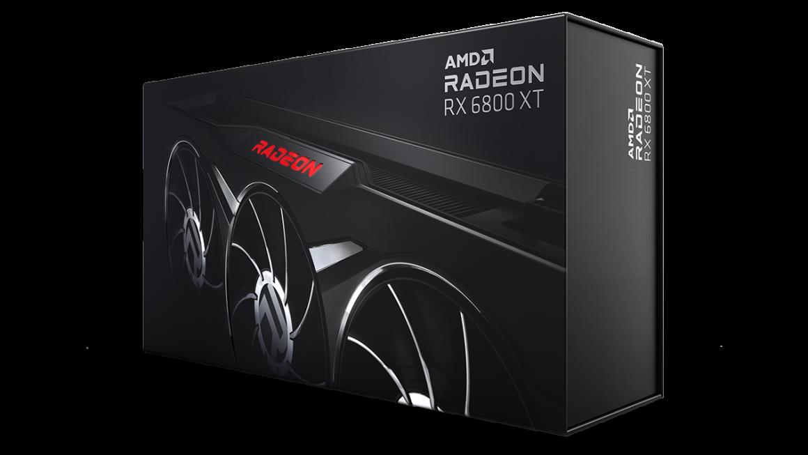 گرافیک Radeon RX 6800 XT Midnight Black