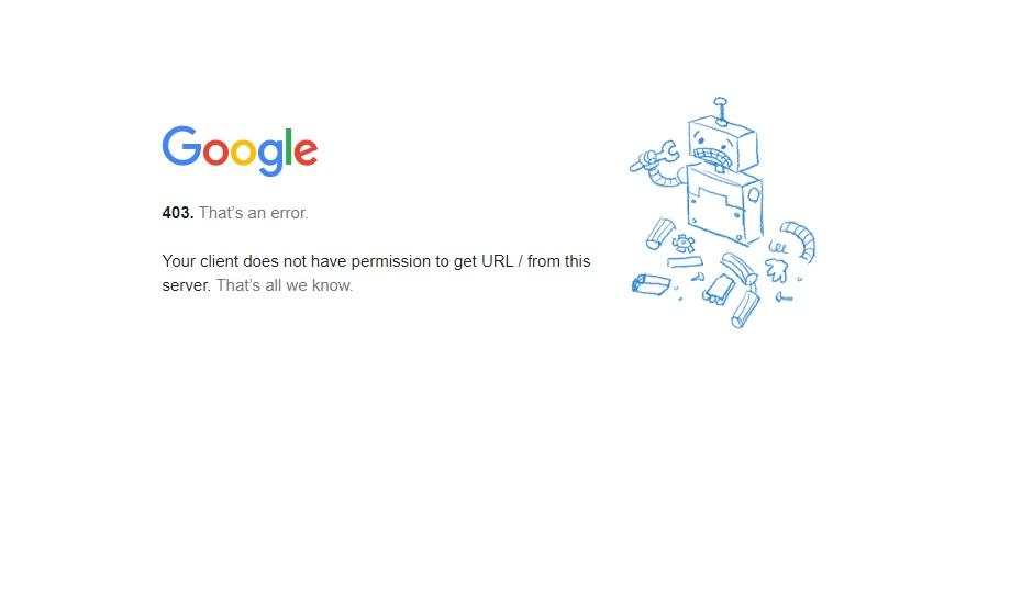 تحریم های گوگل برای ایران