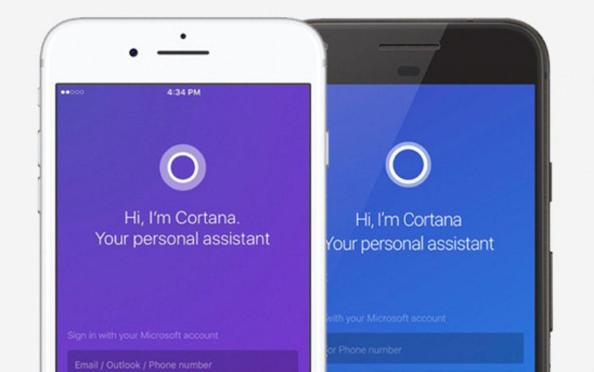 نسخه موبایل Cortana