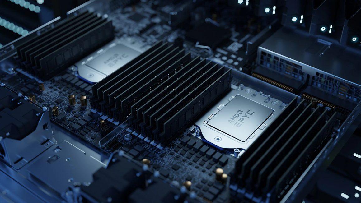 پردازنده های AMD EPYC
