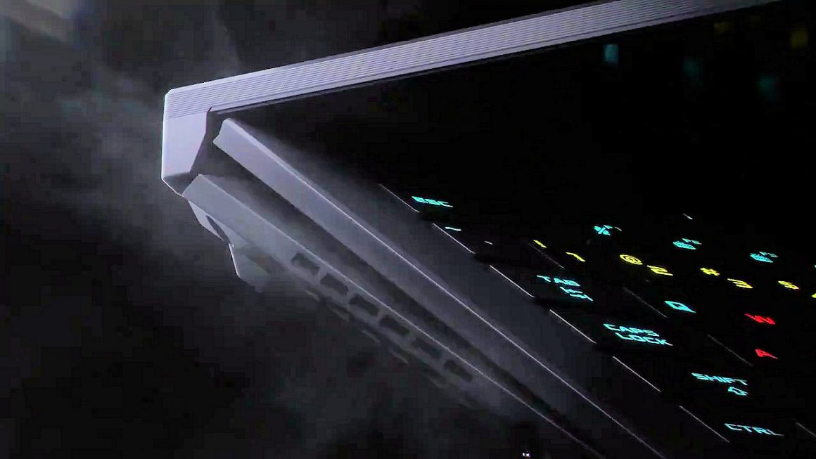 تیزر نوت بوک ROG Zephryus S17