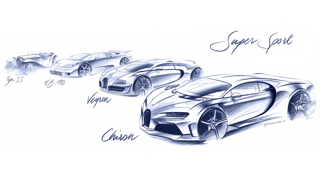 بوگاتی شیرون سوپر اسپورت - 440 کیلومتر بر ساعت در 17 ثانیه ۴